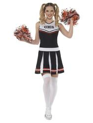 Cheerleader Kjole sort