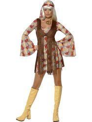 Hippie kjole kort