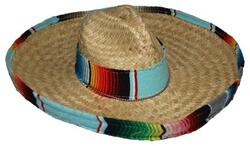 Sombrero hat Poncho model