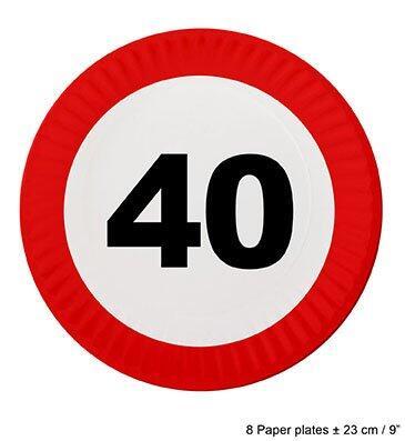 40 års dag Køb 40 års fødselsdags tallerkener til 19,00 Kr. 40 års dag