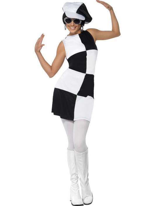 60er Pop-art kostume kvinder - Se cool 60er kostumer på