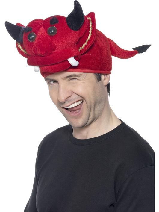 Køb Djævle hat til 49,00 Kr.