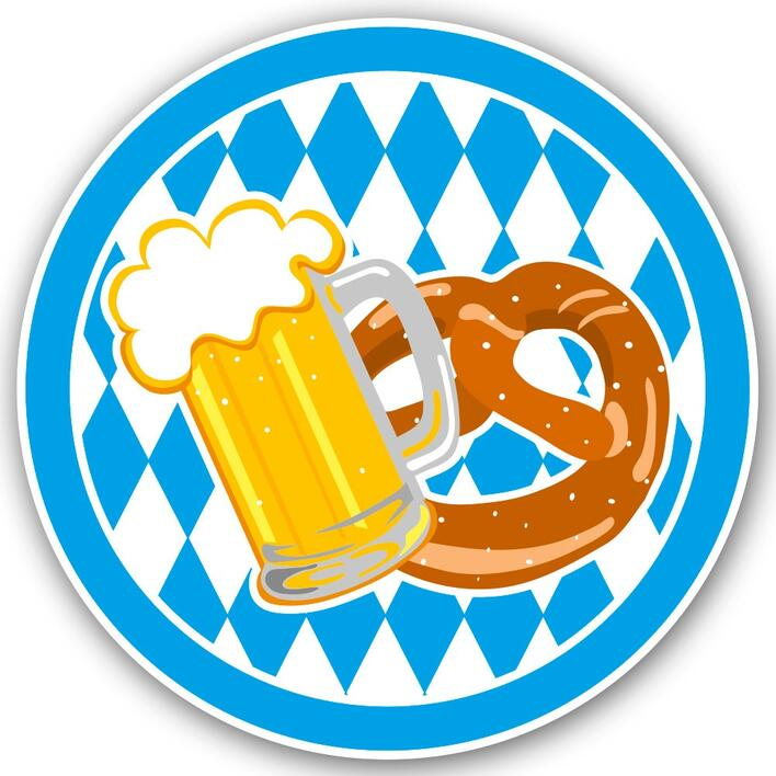 Oktoberfest Badge LED