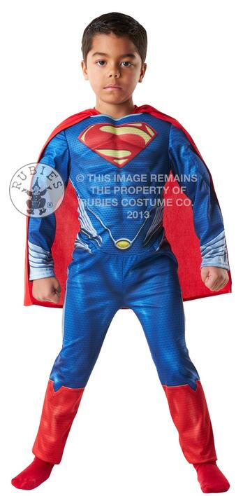 Superman Børnekostume