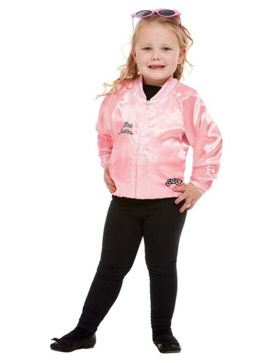 Grease Pink Lady Børnekostume