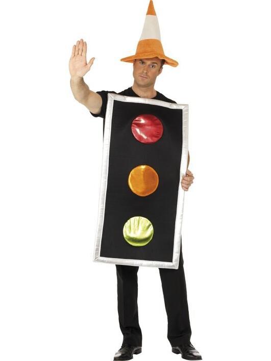 Køb Trafik lys kostume til 239,00 Kr.