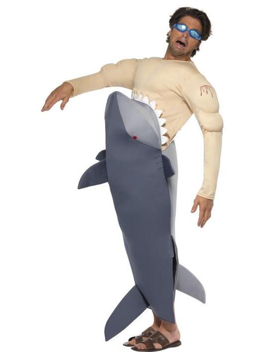 Haj kostume til mænd