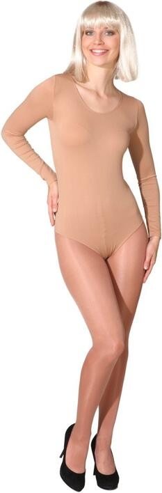Body stocking hudfarvet