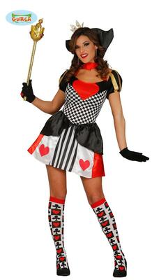 Queen of hearts kostume