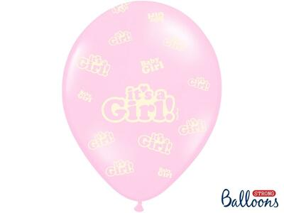 It's a girl balloner pink