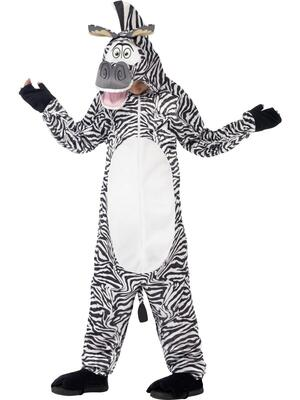 Madagascar Marty The Zebra Kostume