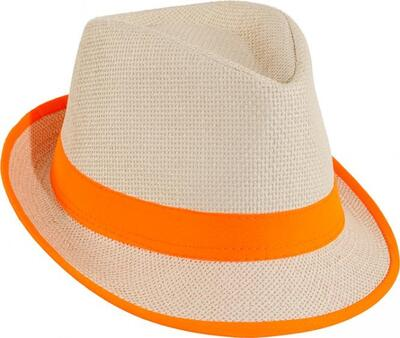 Jazz Hat Neon orange