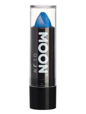 Moon Intense Glitter Læbestift Neon Blå