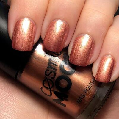 Moon Metallic Neglelak Rose Guld