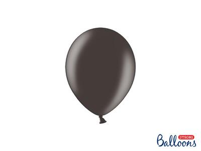 Sort ballon metallic