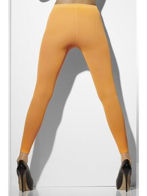 Neon orange leggins