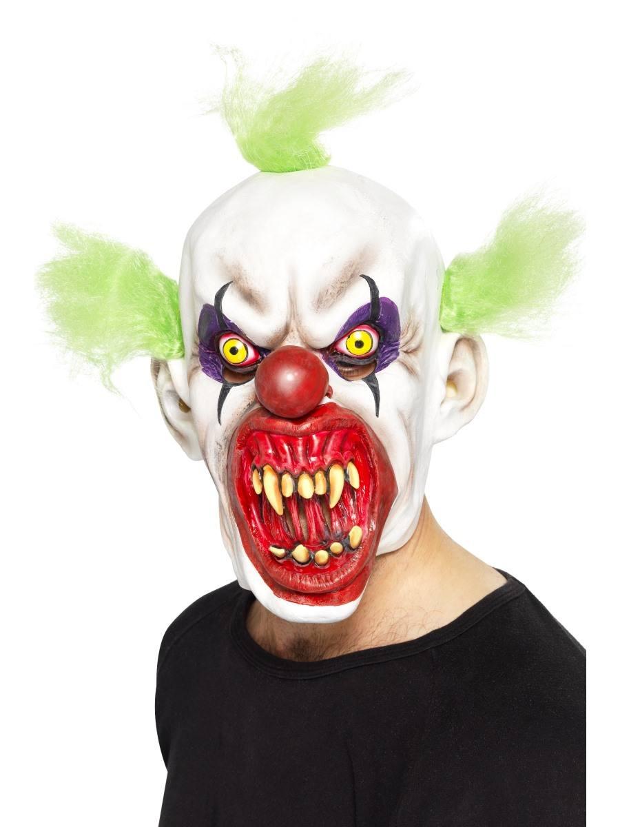 Skræmmende klovne maske